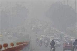 delhi air quality in  very bad  category