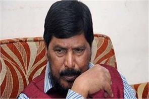 athawale speaks on shiv sena alliance  ignored party