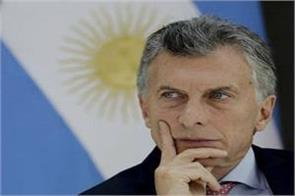 argentina s president arrives in india on sunday on a three day visit