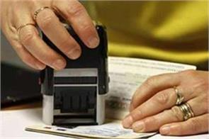 counting of visa applicants in jalandhar  chandigarh is highest in the country