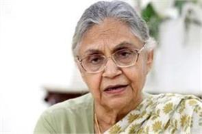sheila dikshit quotes delhi s full state status is not an election issue