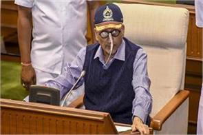 the drip in the nose the sick body parrikar s passion was always high