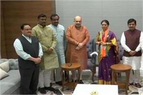 telangana big blow to congress former minister included in bjp