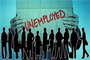 problems of unemployment  being  serious  day by day