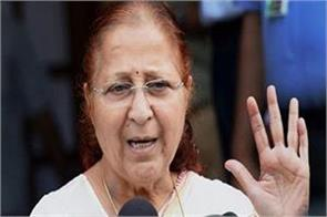 off the record sumitra mahajan can get chance again