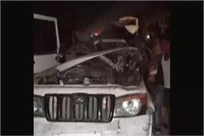 dreadful road accident in bahraich 5 pilgrims die on the spot