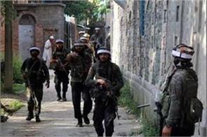 j k 1 terrorist has been gunned down by security forces in handwara