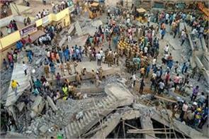 karnataka 14 dead since falling building in dharwad