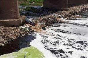to make ghaggar pollution free administrative department is not serious