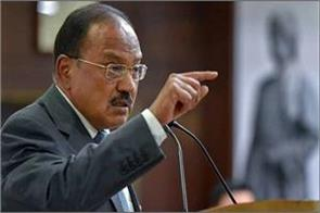 national security advisor ajit doval speaks at the 80th crpf anniversary parade