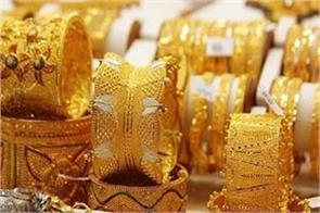 gold prices fall in the last week as the rupee strengthened against the dollar