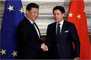 italy china sign memorandum deepening economic ties