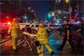 32 injured explosion manhattan