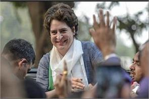 priyanka gandhi vadra react on her first speech