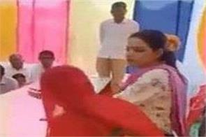 mla insults the woman sarpanch