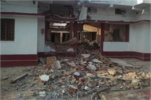 bjp leader house blown away with dynamite
