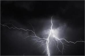 4 laborers death due to lightning falling in chaibasa