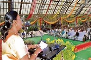 governor draupadi murmu congratulated holi said use natural gulal