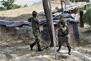 j k firing of pakistani army at loc in rajouri 1 jawan martyr