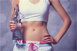 you should drink water as per your weight to slim down