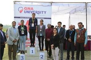 sports meet in gna students performed stricter competition