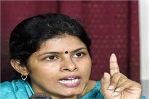 swati singh s attack on congress