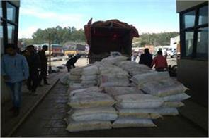 cement and polythene smuggling bid foiled in lakhanpur
