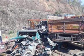 6 people died in road accident