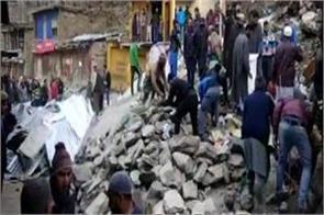 landslide in doda 36 shops burried under debris