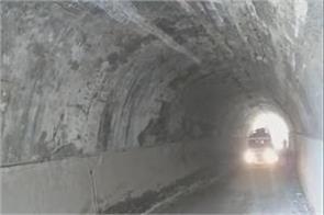 tunnel damaged connected with kedar ghati