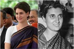 priyanka gandhi is following grandma indira