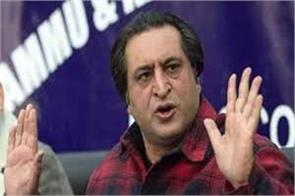 sajjad lone condemn attack on political workers in kashmir