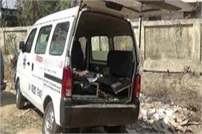 smuggling of liquor from ambulance in darbhanga