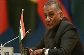 vk singh counterattack on the statement of digvijay at pulwama accident