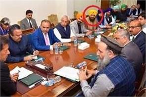 imran meets khalistani gopal chawla ahead of kartarpur talks
