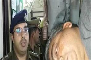 battling firing of unknown crooks on bjp leader shot in the back
