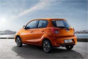 nissan datsun go cars are expensive from april 1 to 4