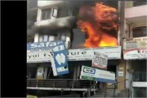 delhi two dead after a fire broke out in a in shaheen bagh area