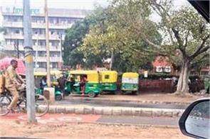 challan of 257 vehicles traffic police
