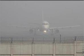 due to bad weather in delhi 5 aircraft landed at the airport of jaipur