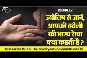learn from astrology what does the fate line of your palm say