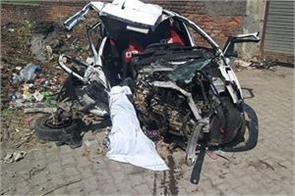 four died nad eight injured in different road accident