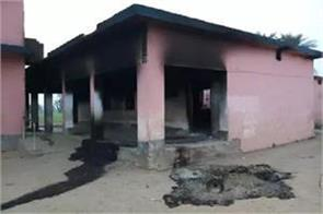 maoist attack on camp being built for police stoppage