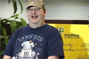 us man won lottery worth 273 million dollars on tickets lost and found