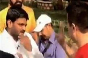 when the people in the park attack on hardik patel