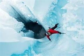 climbers reached deep hole in worlds second largest ice sheet o