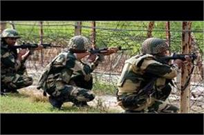 pakistani post damaged by indian army in poonch
