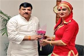 somnath mahamandaleshwar bhavani maa candidate from aam aadmi party