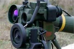 man portable anti tank guided missile in rajasthan