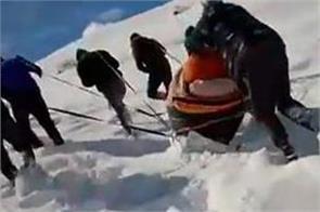 kaza ice video viral social media